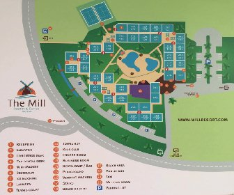 The Mill Resort Map Layout