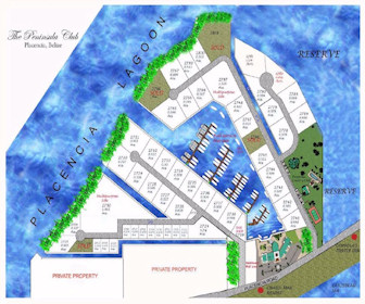 Peninsula Club Resort Map Layout