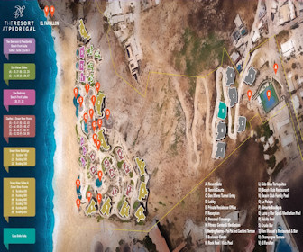The Resort at Pedregal Resort Map Layout