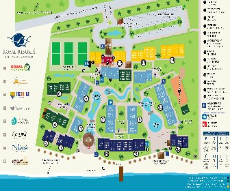The Royal Cancun All Suites Resort Map Layout