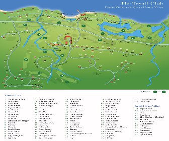 The Tryall Club Resort Map Layout