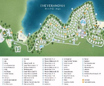 The Verandah Resort Map Layout