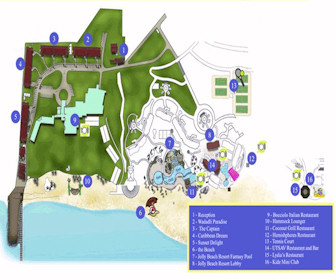 Tranquility Bay Resort Map Layout