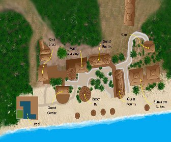 Utopia Village Resort Map Layout