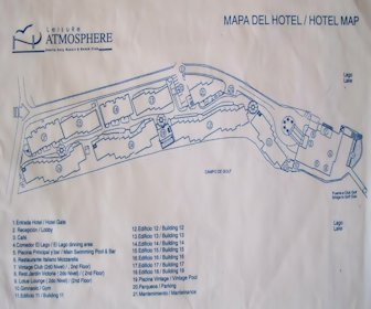 VH Atmosphere (Adults Only) Resort Map Layout