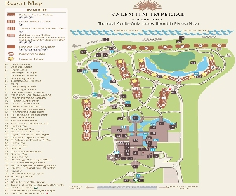 Valentin Imperial Maya Resort Map Layout