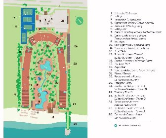 Velas Vallarta Suite Resort Map Layout