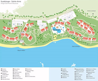 Village Club Pierre et Vacances Resort Map Layout