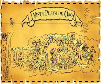 Vista Playa De Oro Resort Map Layout