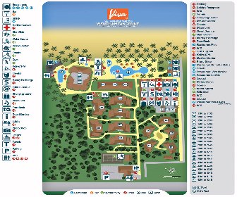 Viva Wyndham Tangerine Resort Map Layout