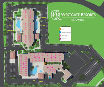Westgate Resorts The Towers Map Layout