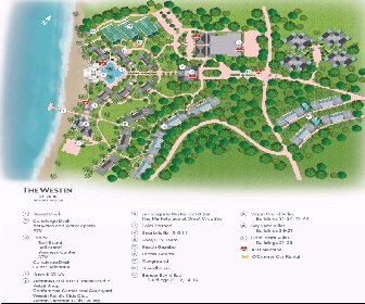 The Westin St.John Resort Map Layout