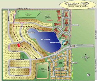 Windsor Hills Resort Map Layout