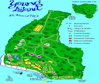 Young Island Resort Map Layout