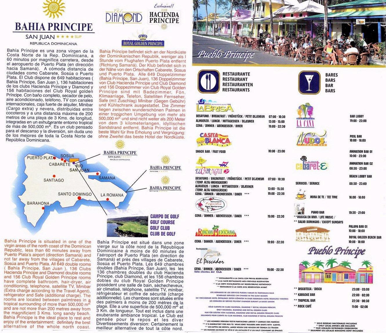 Grand Bahia Principe San Juan Resort Map