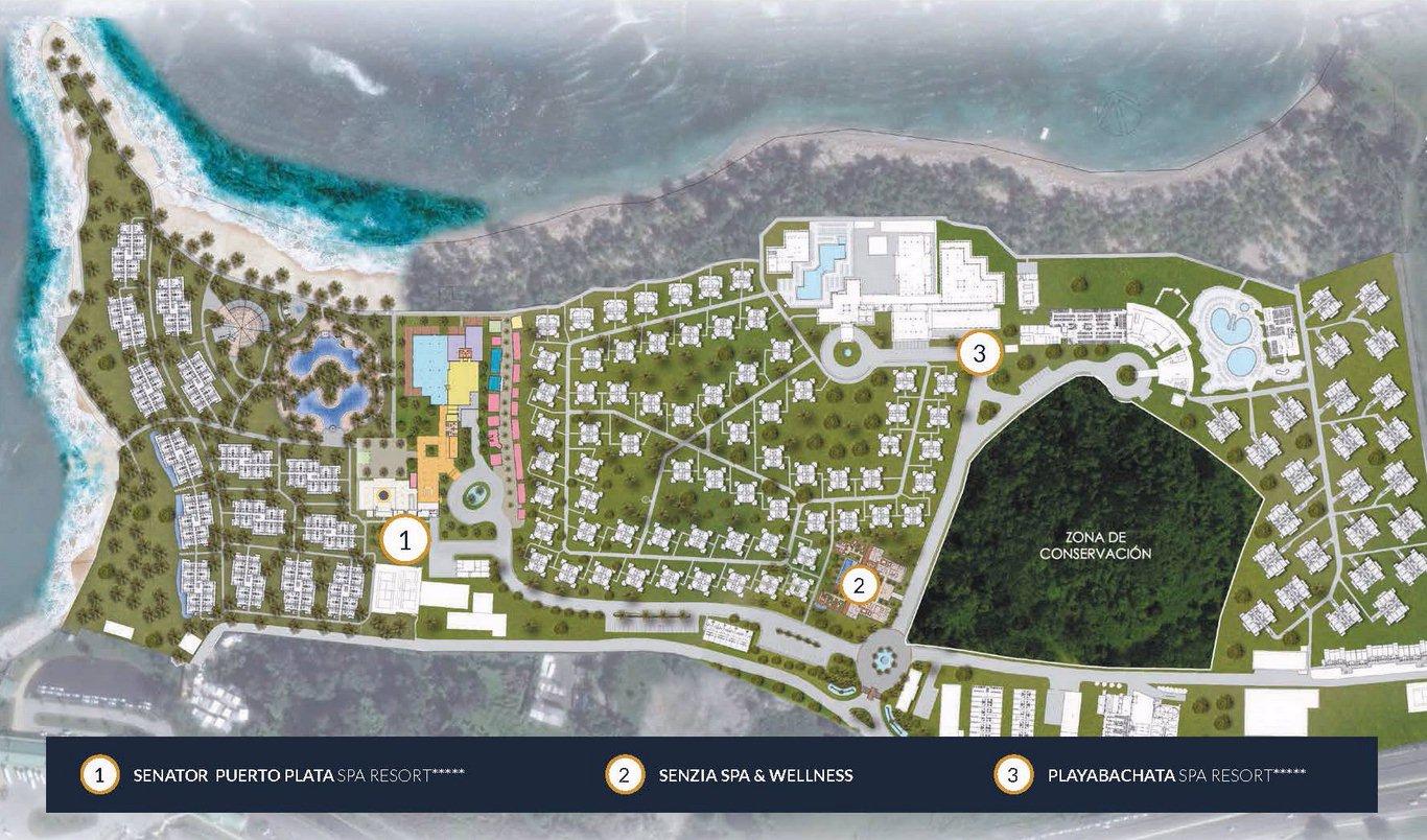Riu Bachata Map